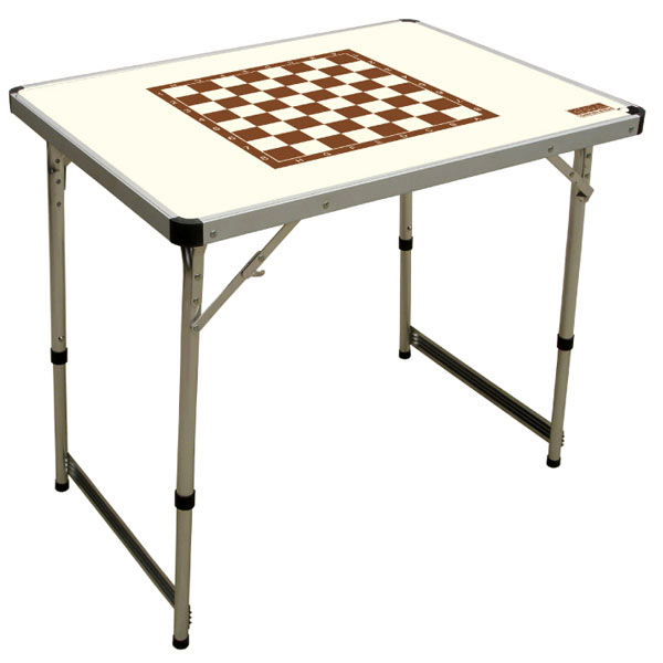Стол шахматный Camping Chess Table Ivory
