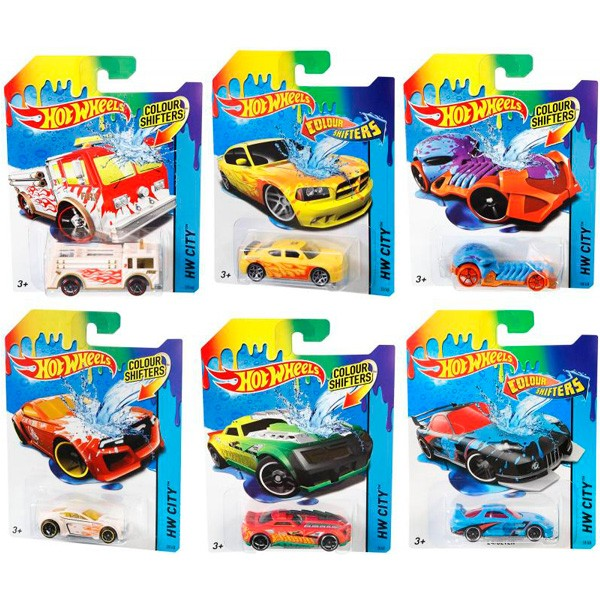 Машинка Mattel Hot Wheels COLOR SHIFTERS