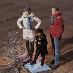 3D фигурка маме - миниатюрная копия