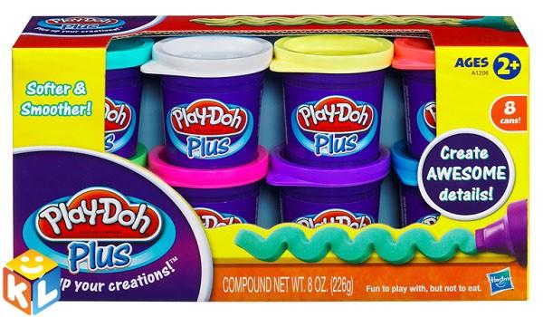 Набор пластилина Play-Doh из 8 банок от Hasbro
