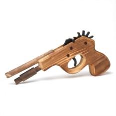 Стреляющий резинками пистолет