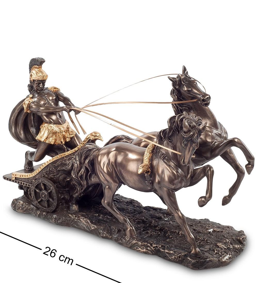 Статуэтка Воин на колеснице , высота 17 см