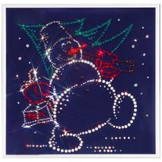 Картина Swarovski «Снеговик»