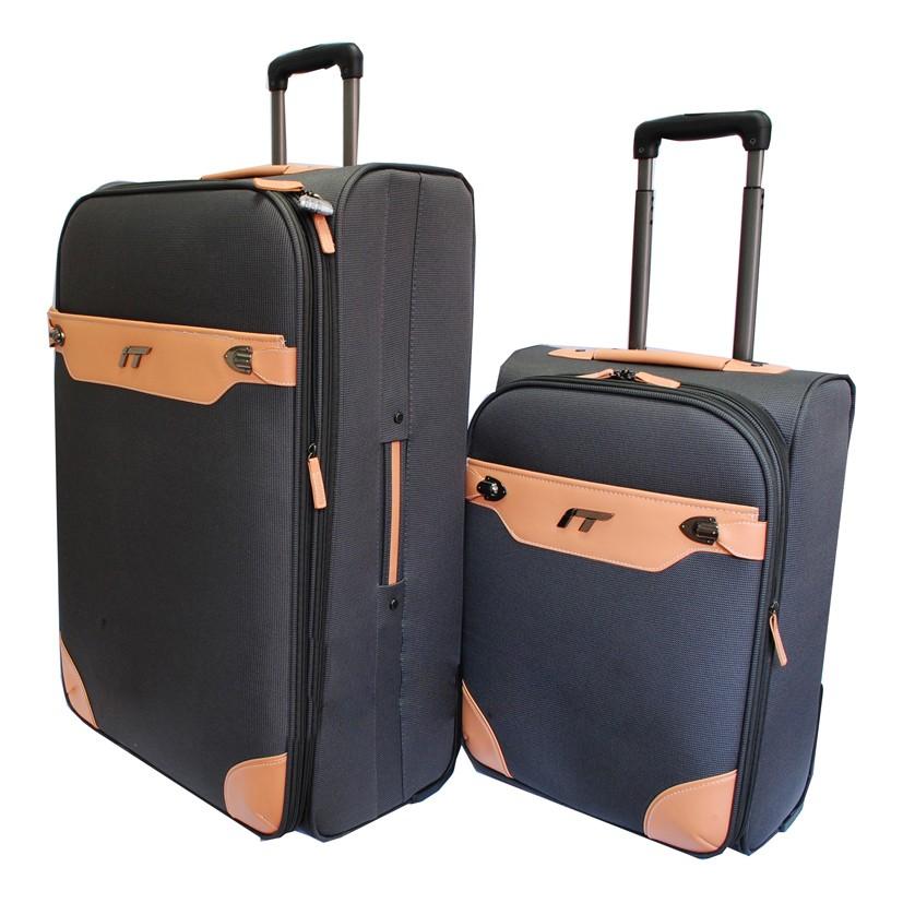 Расширяемые чемодан-тележки IT Valencia
