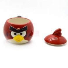 Объемная кружка с крышкой Angry Birds