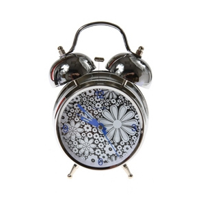 Часы настольные «Цветочная поляна»