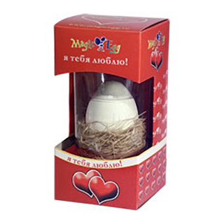 Волшебное яйцо «Я тебя люблю»