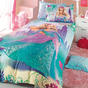 Детское постельное белье Barbie Island Princess