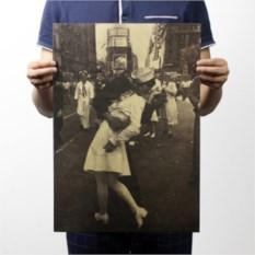 Плакат Тот самый поцелуй