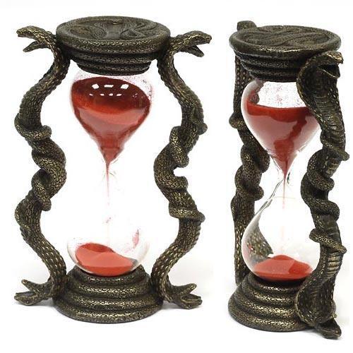 Песочные часы «Змея» (красные)
