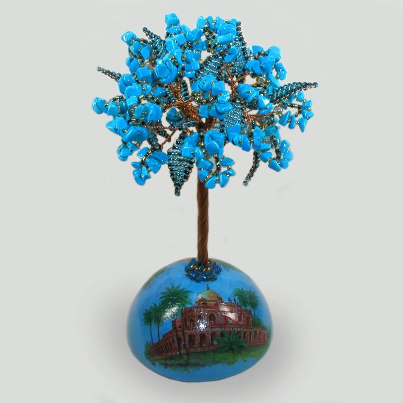 Дерево из бирюзы Индийские мотивы