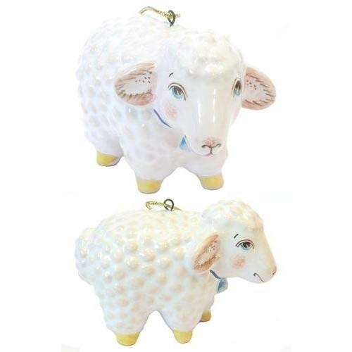 Новогодний овечка своими руками