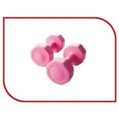 Комплект розовых гантелей Atemi
