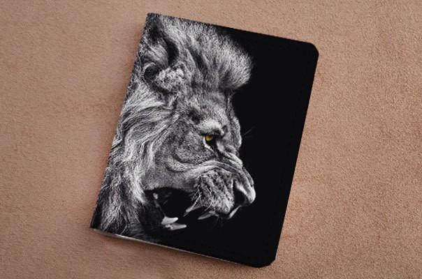 Горизонтальный кардхолдер Морда льва