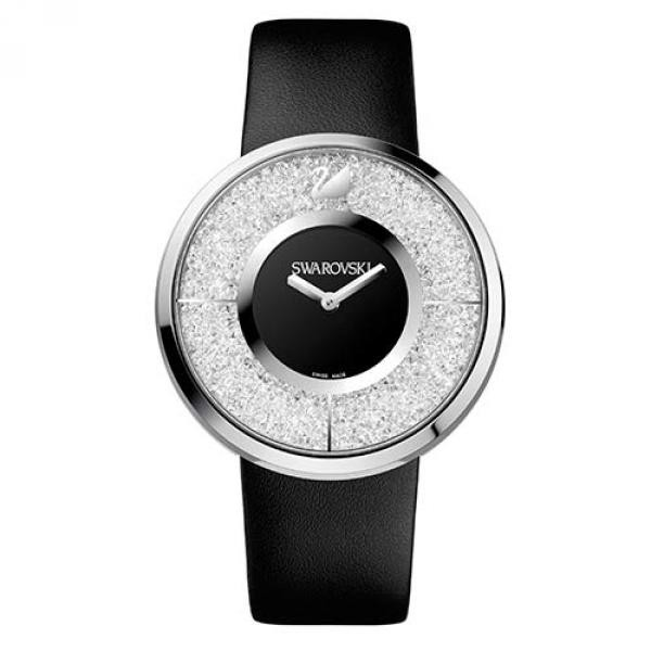 Часы Swarovski из нержавеющей стали Crystalline Black