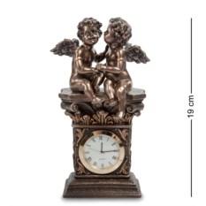 Часы Два ангела (цвет — бронзовый)