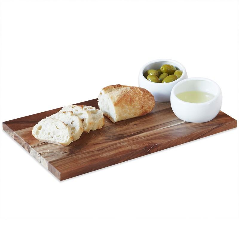 Доска для хлеба с соусницами Plato