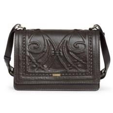 Коричневая женская сумочка «Ар-нуво»
