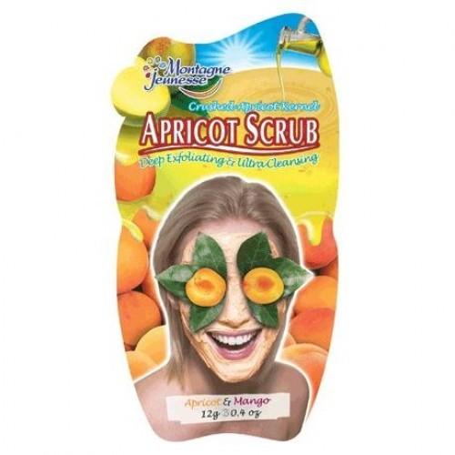 Скраб для лица с абрикосом и манго