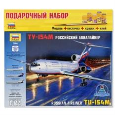 Сборная модель самолета «ТУ-154М»