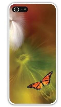 Чехол-накладка для iphone 5/5S, бабочка