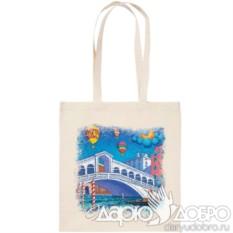 Холщовая эко-сумка Венеция