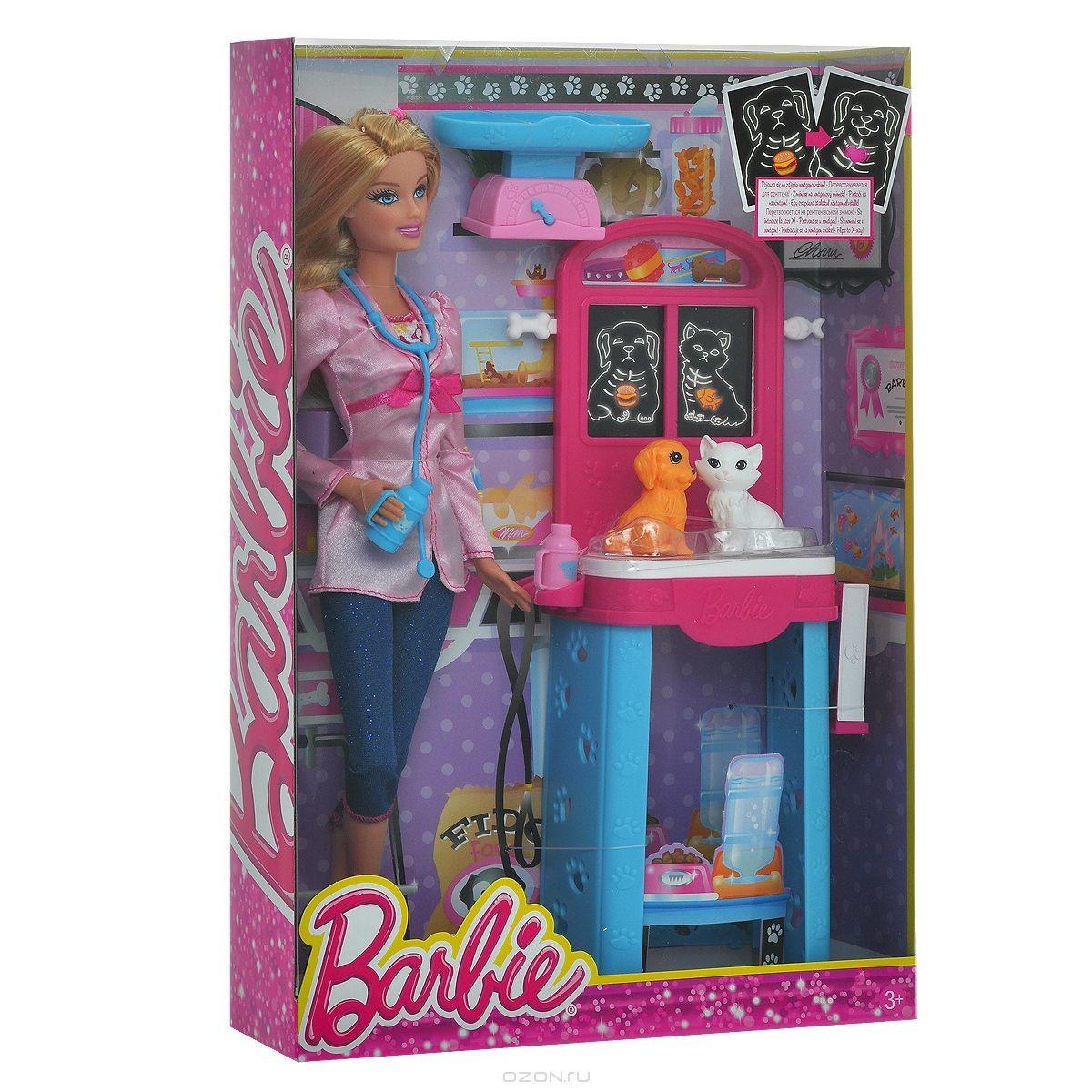 Игровой набор Барби. Ветеринар