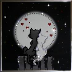 Картина с кристаллами Сваровски Лямур