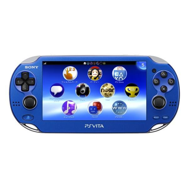 Приставка Sony PlayStation Vita 1001 Wi-Fi (синяя)