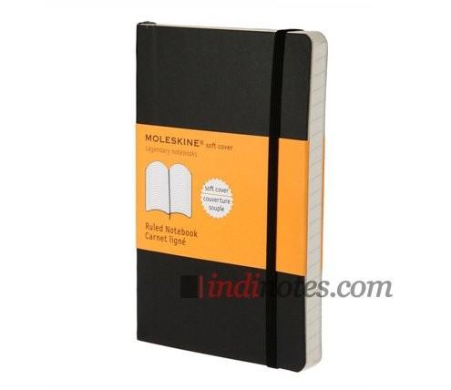 Записная книжка в линейку Classic Soft, Pocket