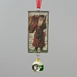 Подвеска c колокольчиком «Дед Мороз»