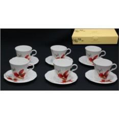 Фарфоровый чайный набор 12 предметов