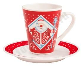 Чайная пара Дед мороз