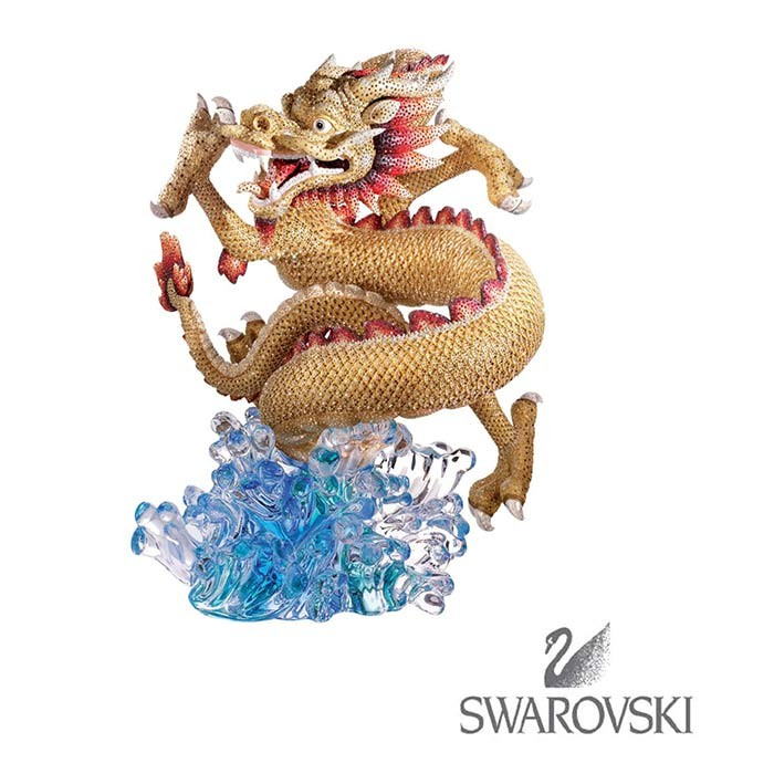 Статуэтка из шлифованного хрусталя Longwang – Дракон