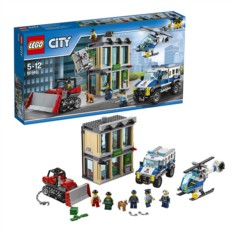 Конструктор Лего Город Ограбление на бульдозере