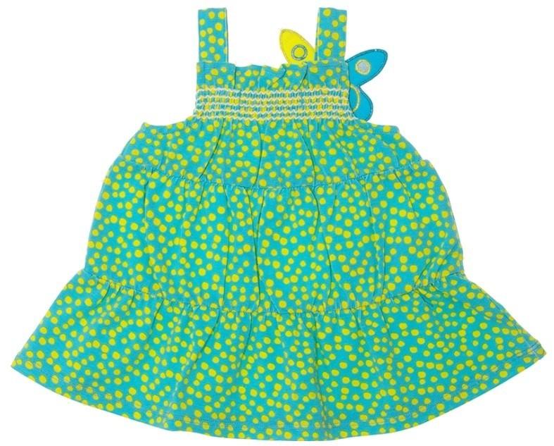 Зеленый сарафан Agatha baby