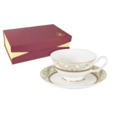 Чайный набор Романтика из 6 чашек и 6 блюдец