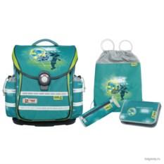 Зеленый школьный ранец McNeill Ergo Light Plus