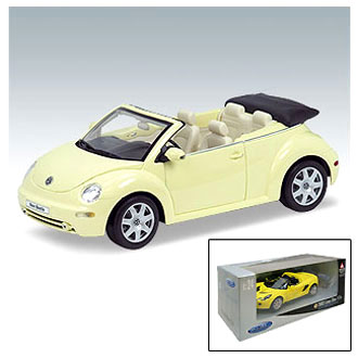 Машинка VW NEW BEETLE CONV 1:24/27 Welly