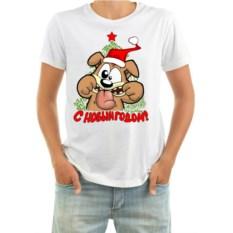 Мужская футболка Собака дразнится