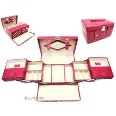 Нежно-розовая шкатулка для ювелирных украшений Valise