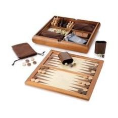 Набор из 6 игр в коробке из дерева