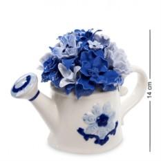 Фарфоровая композиция Лейка с цветами