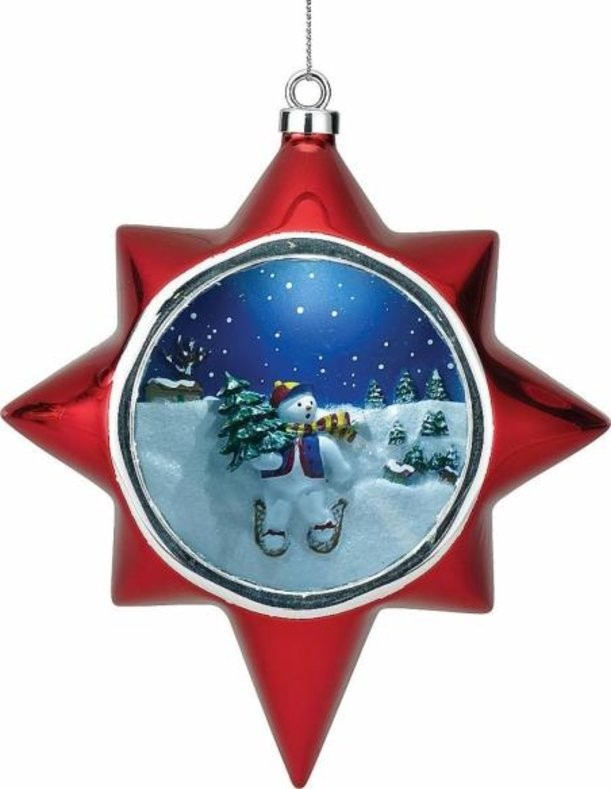 Новогодняя композиция Снеговик Mister Christmas