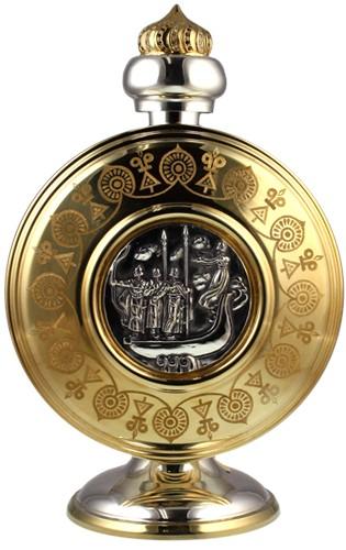 Серебряная фляга из набора Киевская Русь