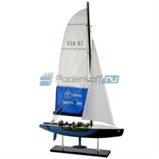Модель яхты Oneworld
