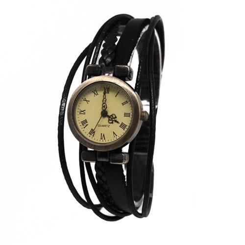 Часы Old-time (черные)