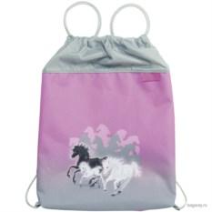 Розовый мешок для обуви McNeill School Лошадка