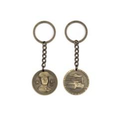 Сувенирный металлический брелок Сталинград