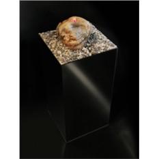 Фонтан напольный Зеркальный Куб с подсветкой и туманом